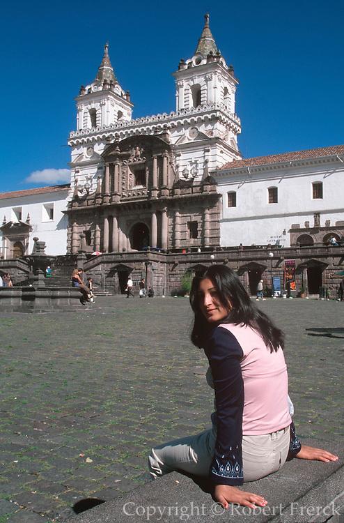ECUADOR, COLONIAL QUITO Monastery of San Francisco 1534