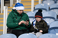 Fans in the stand ahead of the EFL Sky Bet League 1 match between Portsmouth and Ipswich Town at Fratton Park, Portsmouth, England on 21 December 2019.