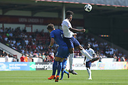 Dylan Crowe of England (2) during the UEFA European Under 17 Championship 2018 match between England and Italy at the Banks's Stadium, Walsall, England on 7 May 2018. Picture by Mick Haynes.