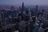 Evening in Chicago