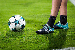Champions league ball during group E football match between NK Maribor and Liverpool FC in 3rd Round of UEFA Champions League, on October 17, 2017 in Ljudski vrt, Ljubljana, Slovenia. Photo by Ziga Zupan / Sportida