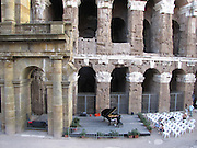 Italy, Rome, Pianist in Teatro di Marcello
