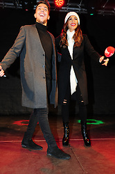 © Licensed to London News Pictures. 07/12/2016<br /> X-Factor finalist Matt Terry is in Bromley tonight with Nicole Scherzinger performing a home coming gig in Market Square,Bromley  <br /> Photo credit :Grant Falvey/LNP