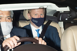 © Licensed to London News Pictures. 20/10/2020. London, UK. Secretary of State for Digital, Culture, Media and Sport Oliver Dowden departs the Foreign, Commonwealth and Development Office following a Cabinet Meeting. Photo credit: George Cracknell Wright/LNP