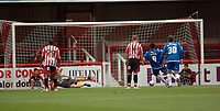 Photo: Tony Oudot.<br /> Brentford v Stockport County. Coca Cola League 2. 29/09/2007.<br /> Anthony Elding of Stockport scores the first of his two penalties