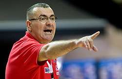 Head coach of Croatia Jasmin Repesa during the EuroBasket 2009 Quaterfinals match between Slovenia and Croatia, on September 18, 2009, in Arena Spodek, Katowice, Poland.  (Photo by Vid Ponikvar / Sportida)