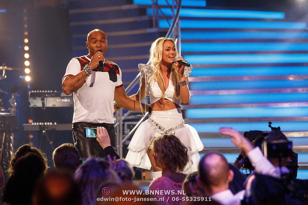 NLD/Aalsmeer/20150509 - Opname Nederland Muziekland, 24 Seven, Stacey C en Li-Ann