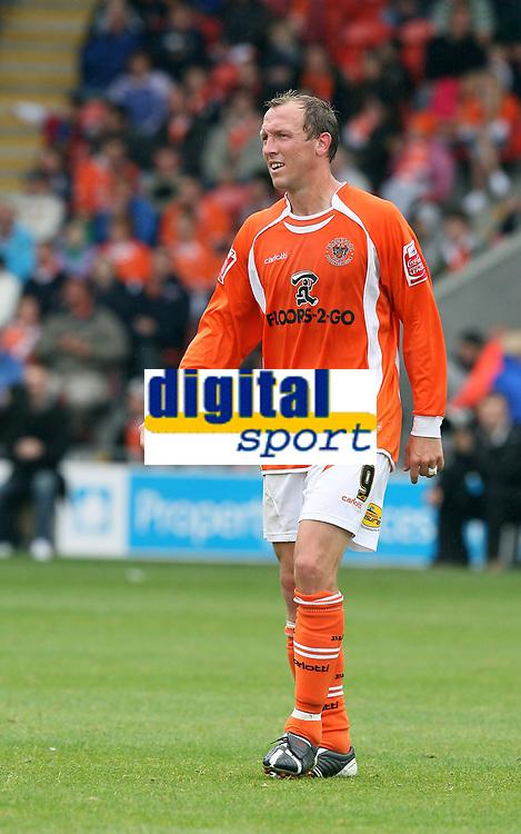 Photo: Paul Greenwood.<br />Blackpool v Bristol City. Coca Cola Championship. 18/08/2007.<br />Blackpool goal scorer Andy Morrell