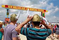 27 April 2013. New Orleans, Louisiana,  USA. .New Orleans Jazz and Heritage Festival. .Photo; Charlie Varley.