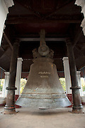 The bell that was originally meant for the Mingun Pahtodawgyi stupa which was never completed. It is believed to be the second largest ringing bell in the world, at Mingun near Mandalay, Myanmar