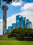Dallas is the ninth most populous city in the United States of America and the third most populous city in the state of Texas. The Dallas-Fort Worth metroplex is the largest metropolitan area in the South and fourth-largest metropolitan area in the United States. The city is the largest economic center of the 12-county Dallas–Fort Worth–Arlington metropolitan area (the DFW MSA, or the Metroplex) and is the sixth largest in the United States. acDallas was founded in 1841 and was formally incorporated as a city in February 1856. The city's economy is primarily based on banking, commerce, telecommunications, computer technology, energy, healthcare and medical research, transportation and logistics. The city is home to the third largest concentration of Fortune 500 companies in the nation. Located in North Texas and a major city in the American South, Dallas is the main core of the largest inland metropolitan area in the United States that lacks any navigable link to the sea.