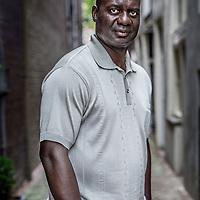 Nederland, Amsterdam, 13 augustus 2016.<br /> Benjamin Sinclair (Ben) Johnson, Jr. (Falmouth, 30 december 1961) is een voormalige atleet uit Canada, die gespecialiseerd is in de sprint. Hij is voornamelijk bekend geworden door zijn diskwalificatie wegens dopinggebruik nadat hij de 100-meterfinale had gewonnen tijdens de Olympische Spelen van 1988.<br /> <br /> Benjamin Sinclair (Ben) Johnson, Jr. (Falmouth, December 30, 1961) is a former athlete from Canada, who specializes in the sprint. He is mainly known for his disqualification for doping use after winning the 100-meter final at the 1988 Olympic Games.<br /> <br /> Foto: Jean-Pierre Jans