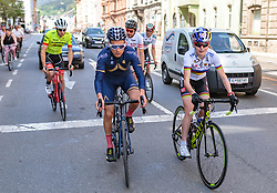 25.04.2018, Innsbruck, AUT, ÖRV Trainingslager, UCI Straßenrad WM 2018, im Bild Stefan Denifl (AUT), Laura Stigger (AUT) // during a Testdrive for the UCI Road World Championships in Innsbruck, Austria on 2018/04/25. EXPA Pictures © 2018, PhotoCredit: EXPA/ JFK