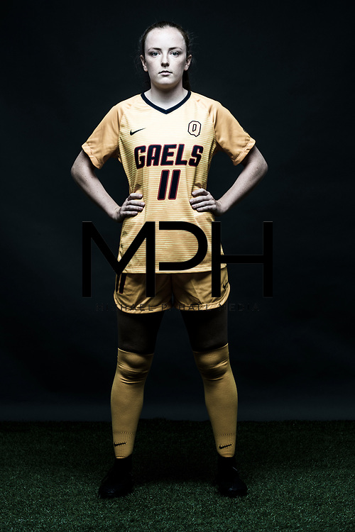 Portraits of Queen's University student-athletes for the OUA on  August 24, {year}. (Michael P. Hall/@mphcentral)