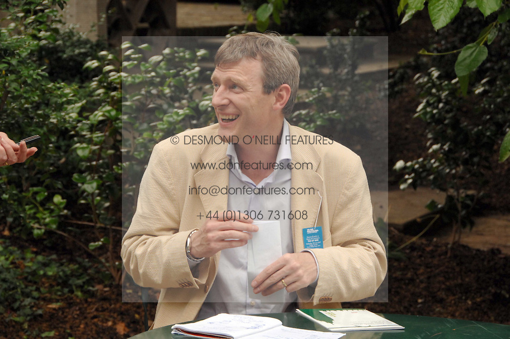 JEREMY VINE at the 20th annual House of Lords v House of Commons Tug of War on Abingdon Green, Westminster, London on 13th June 2007.<br /><br />NON EXCLUSIVE - WORLD RIGHTS