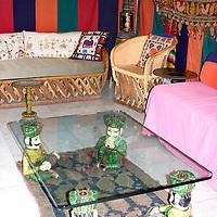 North America, Mexico, Guanajuato. Inn of Happy Spirits Gathering place.