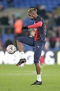 Crystal Palace forward Wilfried Zaha (11) during the The FA Cup 3rd round match between Crystal Palace and Grimsby Town FC at Selhurst Park, London, England on 5 January 2019.