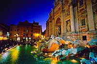 Trevi Fountain (Fontana dei Trevi), Rome, Italy