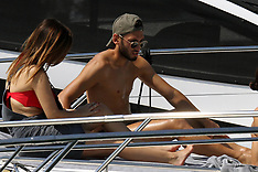 Portofino: Ricardo Rodriguez of Milan AC enjoying holidays - 6 Aug 2017