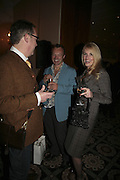 Vic Reeves,  Graham Norton and Nancy Sorrell, The South Bank Show Awards, Savoy Hotel. London. 23 January 2007.  -DO NOT ARCHIVE-© Copyright Photograph by Dafydd Jones. 248 Clapham Rd. London SW9 0PZ. Tel 0207 820 0771. www.dafjones.com.