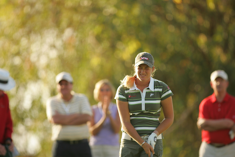Suzann Pettersen.2007 Kraft-Nabisco Championship.Second Round.Mission Hills CC.Dinah Shore Course.Rancho Mirage, CA.Friday, March 30 2007.03/30/07.Photograph by Darren Carroll