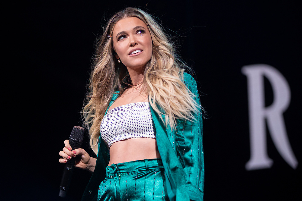 Rachel Platten performing at the Fiserv Forum in Milwaukee, WI on June 18, 2019.