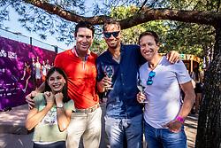 PORTOROZ, SLOVENIA - SEPTEMBER 18:  Gregor Krusic, … and Uros Mesojedec in VIP  during the WTA 250 Zavarovalnica Sava Portoroz at SRC Marina, on September 18, 2021 in Portoroz / Portorose, Slovenia. Photo by Vid Ponikvar / Sportida