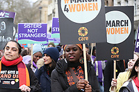 March4Women 2020 rally at Southbank Centre on March 08, 2020 in London, England. The event is to mark International Women's Day photo by Roger Alarcon