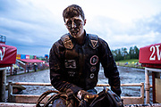 During the Rains Rodeo in Innisfail, Alberta, June 15, 2018. Photograph by Todd Korol