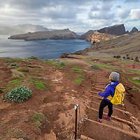 The walk at the very eastern part of the Ponta São Lourenço Peninsula is quiet easy with only a climb at the end, leading to the top of Mount Pico do Furado. As the path is rocky, it makes sense to wear walking shoes with a good grip.