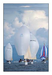 Largs Regatta Week - August 2012..Class 3, Fleet, IRL1666,  Carmen 2, Alan Jeffrey/Paul Scutt