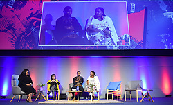 Cape Town-180815 The Daily Marverick had a media gathering discussing different issues like the Gupta Leaks,on the panel they had Nqabayomzi Kwankwa,Lindiwe Mazibuko,Patricia de Lille and Phumzile van Dammephotograph:Phando Jikelo/African News Agency/ANA