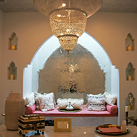 USA, California, Indian Wells. The Spa at the Sands Hotel & Spa.