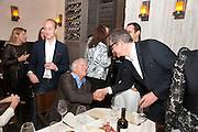 LARRY GAGOSIAN; JAY JOPLING, Aby Rosen & Samantha Boardman Dinner at Solea,Collins ave,  Miami Beach. 2 December 2010. -DO NOT ARCHIVE-© Copyright Photograph by Dafydd Jones. 248 Clapham Rd. London SW9 0PZ. Tel 0207 820 0771. www.dafjones.com.