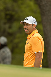 March 23, 2018 - Austin, TX, U.S. - AUSTIN, TX - MARCH 23:  Sergio Garcia looks at the green after his chip falls short and rolls back down a hill during the WGC-Dell Technologies Match Play Tournament on March 22, 2018, at the Austin Country Club in Austin, TX.  (Photo by David Buono/Icon Sportswire) (Credit Image: © David Buono/Icon SMI via ZUMA Press)