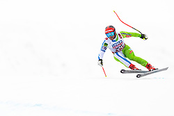 February 9, 2019 - Re, SWEDEN - 190209 Mina Hrobat of Slovenia competes in the downhill during the FIS Alpine World Ski Championships on February 9, 2019 in re  (Credit Image: © Daniel Stiller/Bildbyran via ZUMA Press)