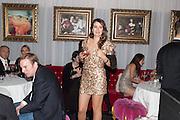 CAROLINA TONG, Pete & Carolina Tong and Yasmin Mills Christmas Party. Baroque, The Playboy Club, Old Park Lane, London. 15 December 2012.