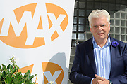 Najaarspresentatie Omroep MAX in Studio 23, Hilversum.<br /> <br /> Op de foto:  Jan Slagter