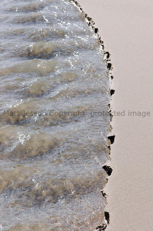 Sandbank and stream