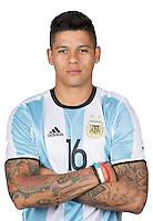 Football Conmebol_Concacaf - <br />Copa America Centenario Usa 2016 - <br />Argentina National Team - Group D -<br />Marcos Rojo