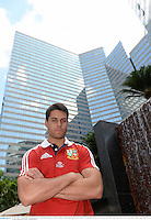 31 May 2013; Sean Maitland, British & Irish Lions, following a press conference ahead of their game against Barbarian FC on Saturday. British & Irish Lions Tour 2013, Press Conference, Grand Hyatt Hotel, Hong Kong, China. Picture credit: Stephen McCarthy / SPORTSFILE