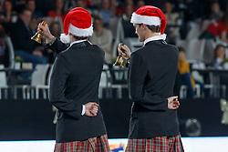 Team Jingle Boys, Philippaerts Olivier, Pink Panther, Lorenzo de Luca, Silverstar <br /> Fancy Dress<br /> Vlaanderen Kerstjumping - Memorial Eric Wauters - <br /> Mechelen 2015<br /> © Hippo Foto - Dirk Caremans<br /> 29/12/15
