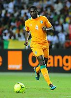 fotball<br />  Kolo Toure Cote D Ivoire Cote D Ivoire Mali Coupe D Afrique the Nations  08 02 2012 <br /> Norway only