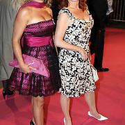 NLD/Amsterdam/20080929 - Pink Ribbon gala 2008, Marian Mudder en Cynthia Abma