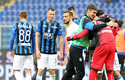 "March 10, 2019 - Genova, Italia - Foto LaPresse - Tano Pecoraro.10 03 2019 Genova - (Italia).Sport Calcio.Sampdoria vs Atalanta.Campionato di Calcio Serie A TIM 2018/2019 - Stadio ""Luigi Ferraris"".nella foto: esultanza finale atalanta..Photo LaPresse - Tano Pecoraro.10 March 2019 City Genova - (Italy).Sport Soccer.Sampdoria vs Atalanta.Italian Football Championship League A TIM 2018/2019 - ""Luigi Ferraris"" Stadium.in the pic: atalanta celebrates (Credit Image: © Lapresse via ZUMA Press)"