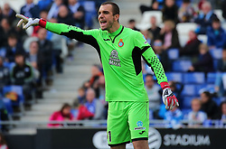 March 11, 2018 - Barcelona, Catalonia, Spain - Pau Lopez during the match between RCD Espanyol and Real Sociedad, for the round 28 of the Liga Santander, played at the RCD Espanyol Stadium on 11th March 2018 in Barcelona, Spain. (Credit Image: © Joan Valls/NurPhoto via ZUMA Press)