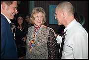 ROGER TATLEY; AGNES GUND; CRAIG STARR, Drinks party to launch this year's Frieze Masters.Hosted by Charles Saumarez Smith and Victoria Siddall<br />  Academicians' room - The Keepers House. Royal Academy. Piccadilly. London. 3 July 2014