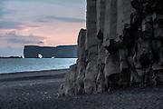 Reynisdrangar in Vík in Mýrdal.
