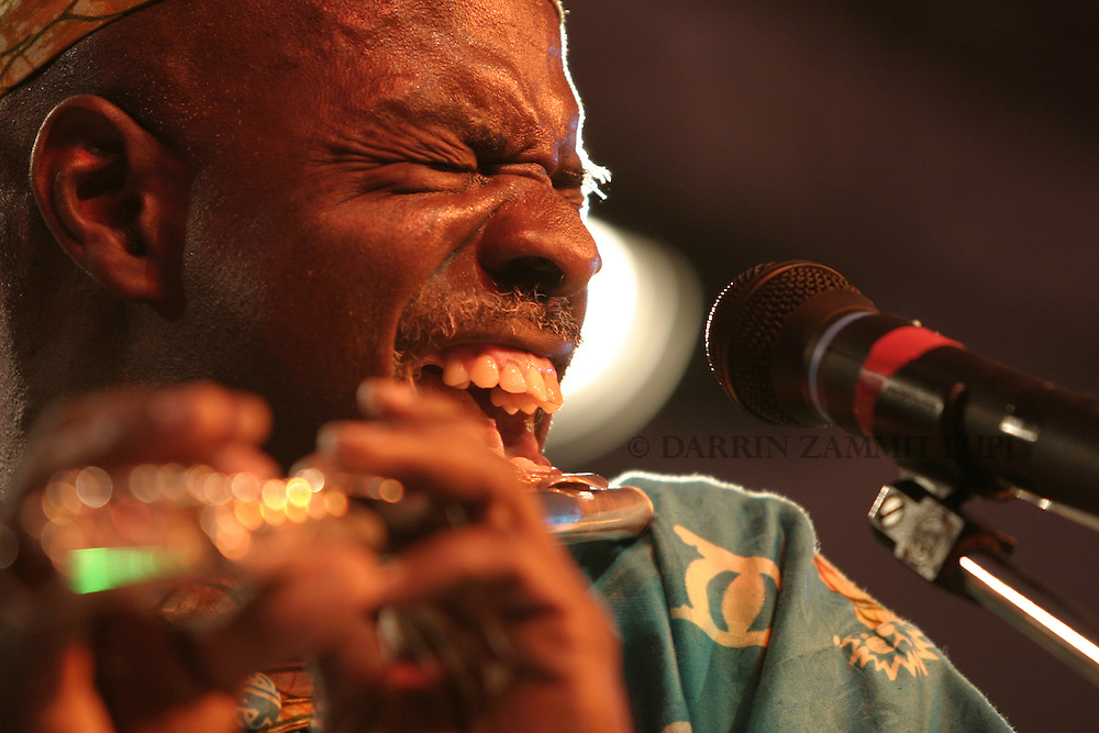 Toby Foyeh and Orchestra Africa, 2004<br /> Photo by Darrin Zammit Lupi