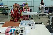 Interior design classes at Islamic college.